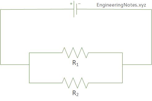 resistor in parallel